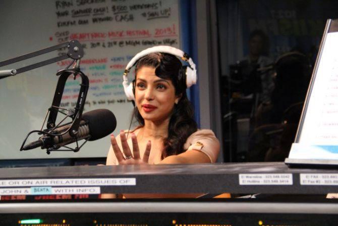 Priyanka Chopra Cool Look In 1027kiis FM At LA