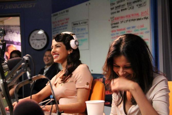 Priyanka Chopra Cooled In 1027kiis FM Studio At LA