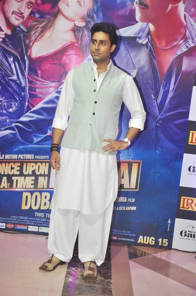 Abhishek Bachchan Spotted At Ekta Kapoor's Party