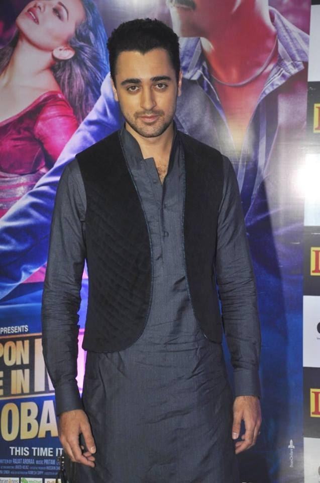 Imran Khan Attend Ekta Kapoor's Iftar Party For OUATIMD Promotion
