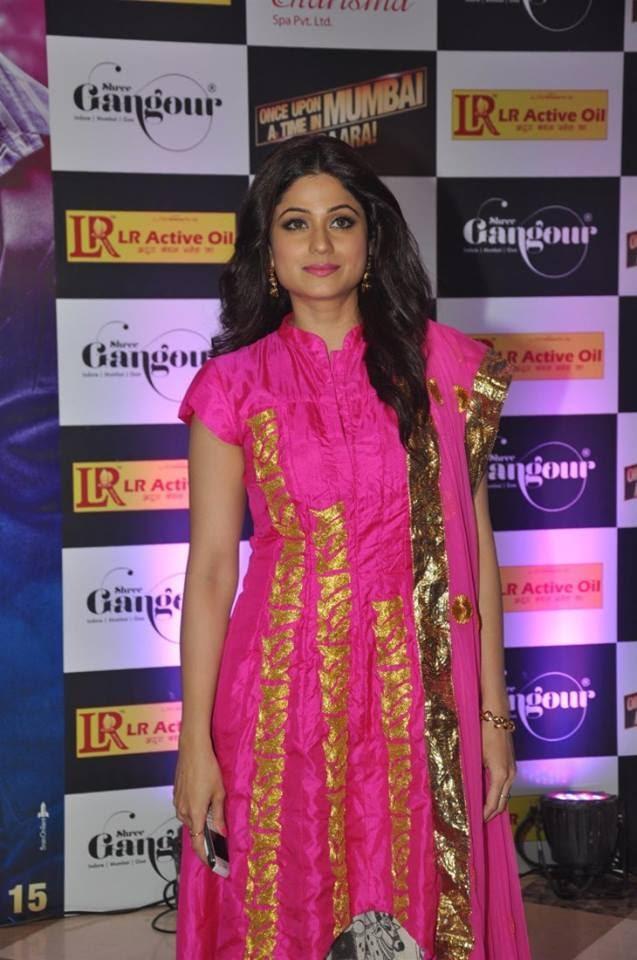 Shamita Shetty In Masaba Dress At Ekta Kapoor's Iftar Party