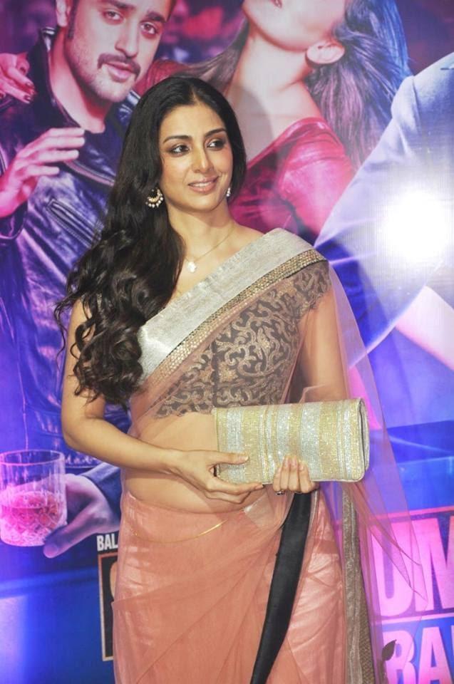 Tabu Look Pretty In Transparent Saree At Ekta Kapoor's Iftar Party