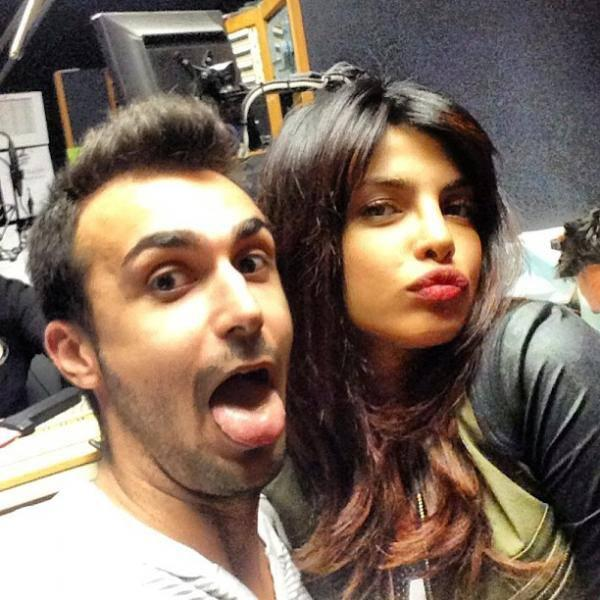 Priyanka Chopra Cool Funny Pose During The Promotion Of Exotic At LA