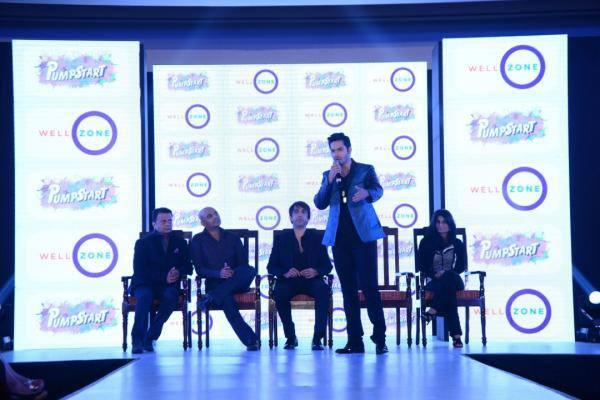 Varun Dhawan Addresses About Health At Launched Well Zone's Pumpstart With Mccann Health Launch Event