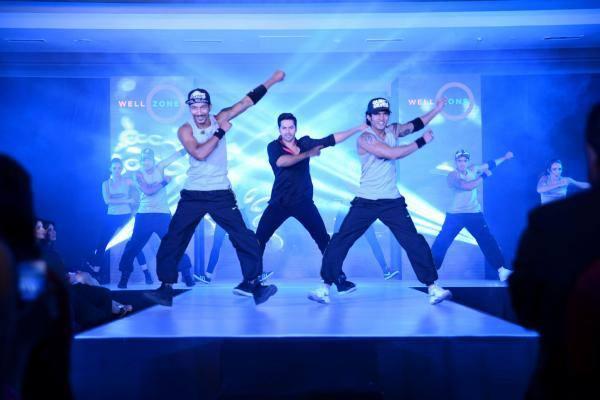 Varun Dhawan Hot Performance At Well Zone And Mccann Health's Pumpstart