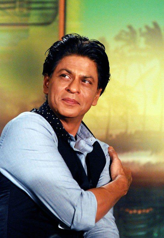 SRK Cherished Look During The Promotion Of Chennai Express In Association With Western Union
