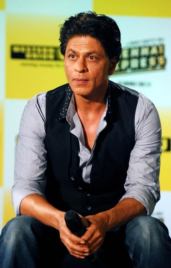 SRK Dazzling Look At Chennai Express Promotion In Association With Western Union