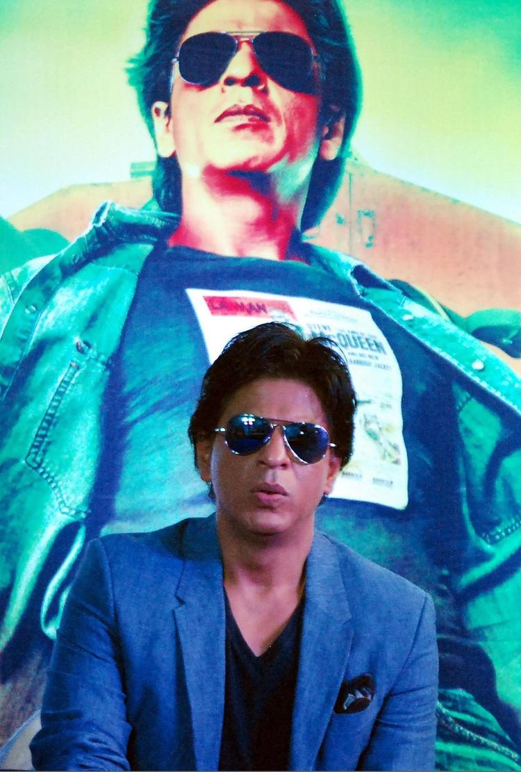 SRK Present At The Promotion Of Chennai Express At K Lounge