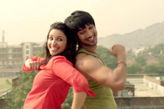 Parineeti And Sushant Cool Dance Still From Shuddh Desi Romance Movie