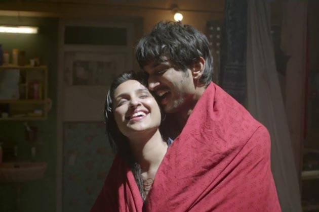 Parineeti And Sushant Cool Romantic Look Still From Shuddh Desi Romance Movie