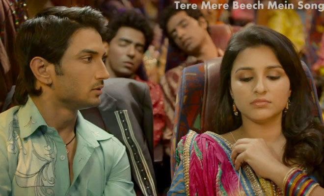 Sushant And Parineeti In Tere Mere Beech Mein Song From Shuddh Desi Romance Movie