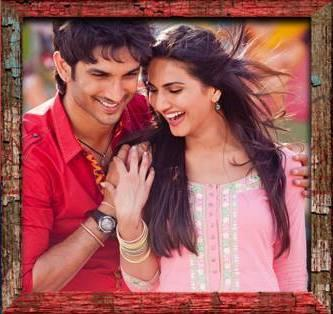 Sushant And Vaani Cool Look Still In Gulabi Song From Shuddh Desi Romance Movie