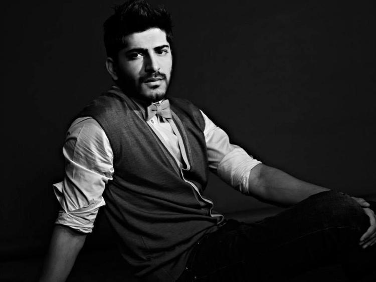 Harshvardhan Kapoor Black And White Nice Look Photo Shoot