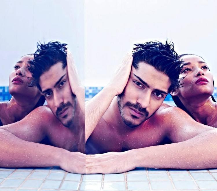 Harshvardhan Kapoor Photo Shoot In Swimming Pool