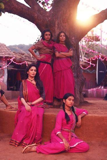 Madhuri Dixit Plays A Strong Charecter In Her New Upcoming Film Gulaab Gang