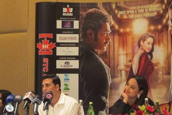 Akshay Kumar Says About His Upcoming Movie OUATIMD At Dubai Oberoi Hotel