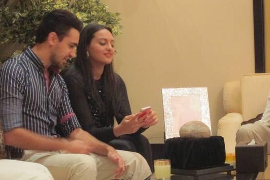 Sonakshi And Imran Promoting Their Upcoming Flick OUATIMD In Dubai At Oberoi Hotel
