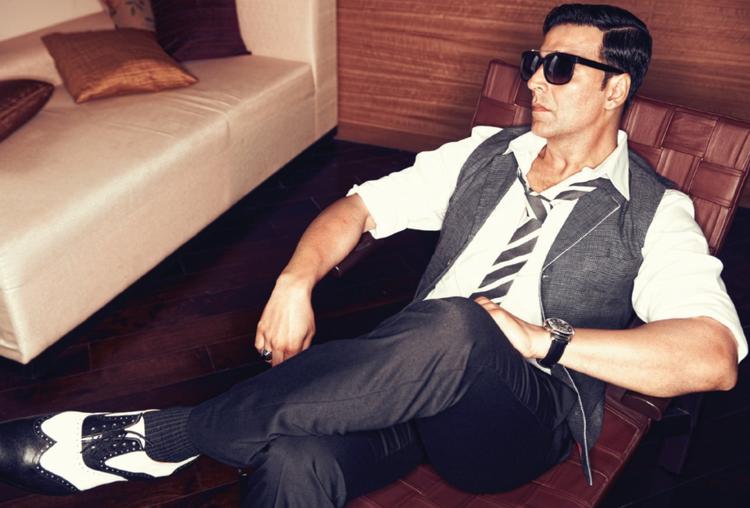 Stunning Akshay Kumar  Latest Shoot For Filmfare August Issue