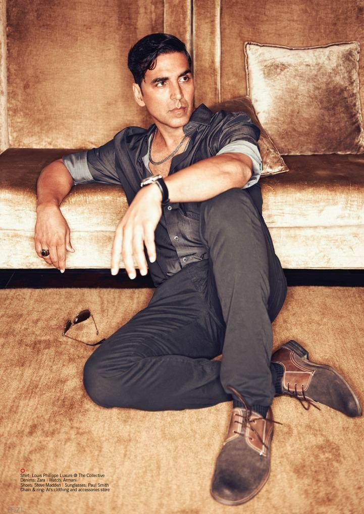 Style Icon Akshay Kumar On The Cover Of Filmfare August Issue