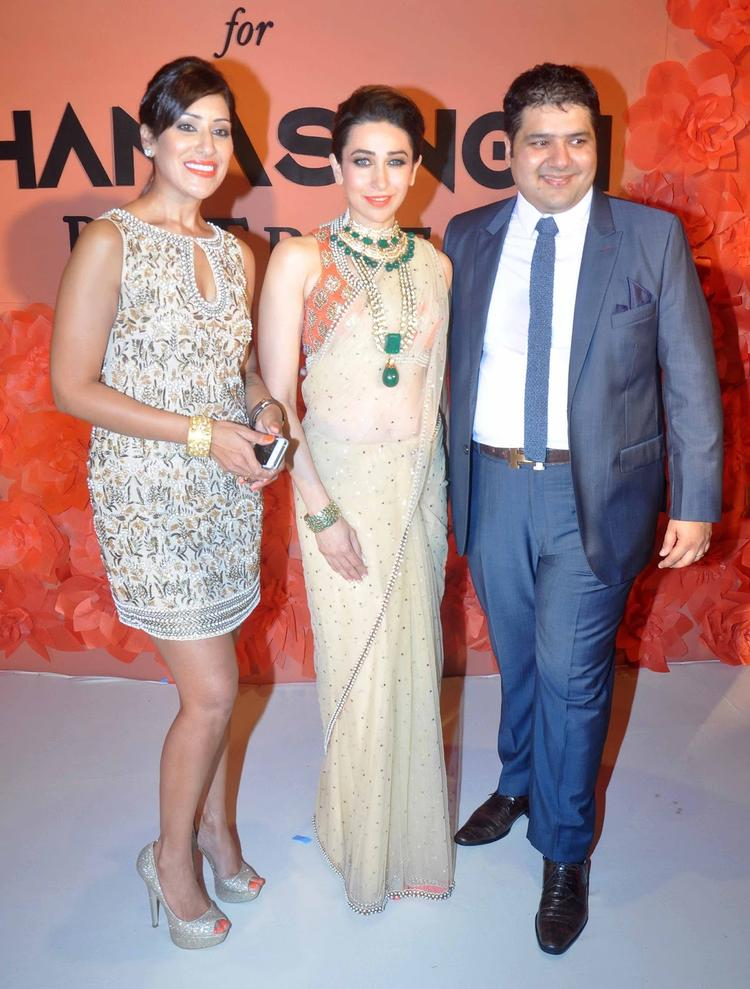 Karishma Walks With Maheka Mirpuri And Gautam Ghanasingh At IIJW 2013