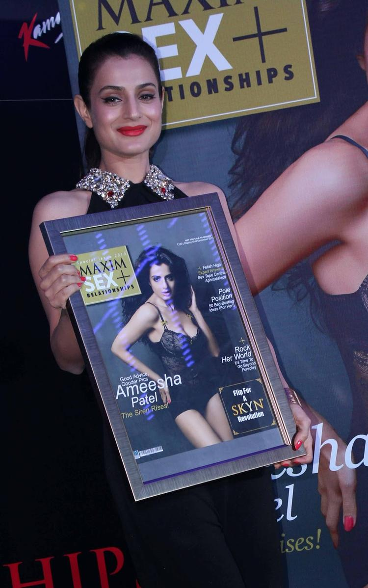 Ameesha Patel Launches Latest Issue Of Maxim Magazine