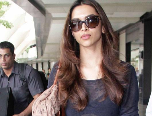 Deepika Padukone Seen At Mumbai Airport After Super Success Of Chennai Express