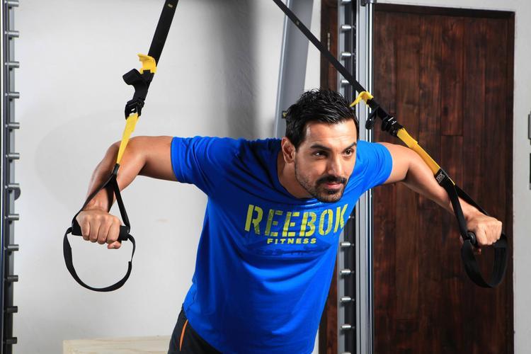 John Abraham As Brand Ambassador For Fitness Brand Reebok