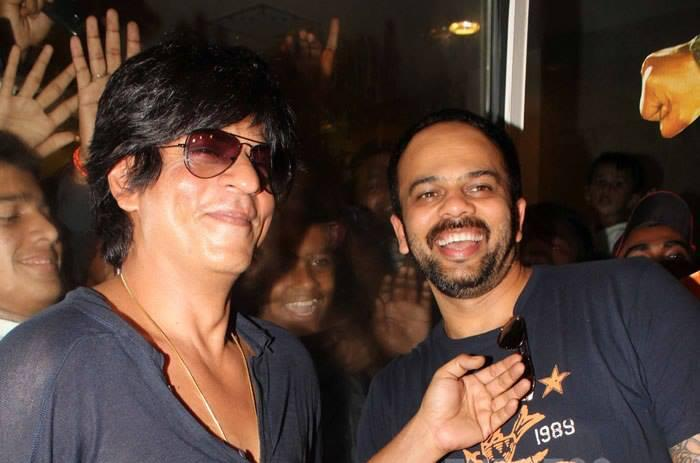 SRK And Rohit Are All Smiles As They Speak To The Press