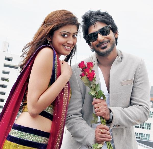 Prajwal And Pranitha Angaraka Movie Sweet Cute Photo Shoot