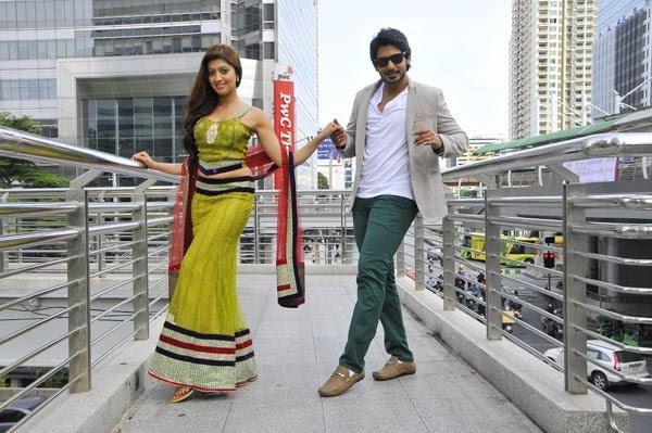 Prajwal And Pranitha Dancing Pic From The Movie Angaraka