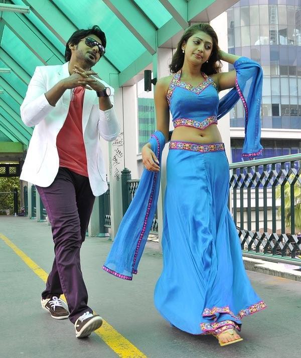 Prajwal Devaraj And Pranitha Angaraka Movie Song Still