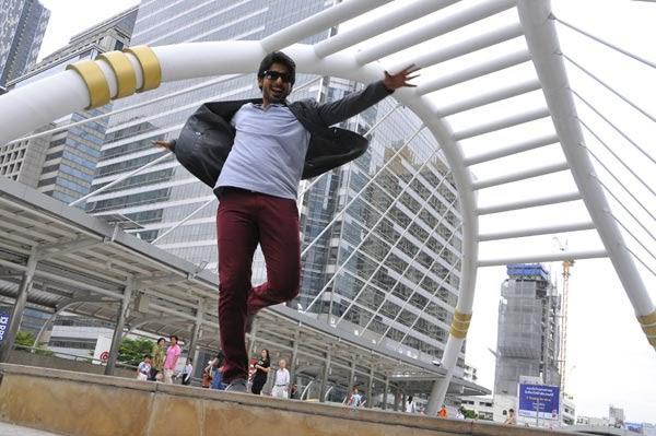 Prajwal Devaraj Latest Pic From The Movie Angaraka