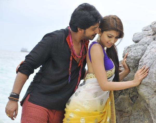 Prajwal Hot With Pranitha In Movie Angaraka