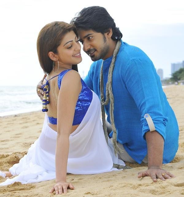 Prajwal Hot With Pranitha In New New Movie Angaraka
