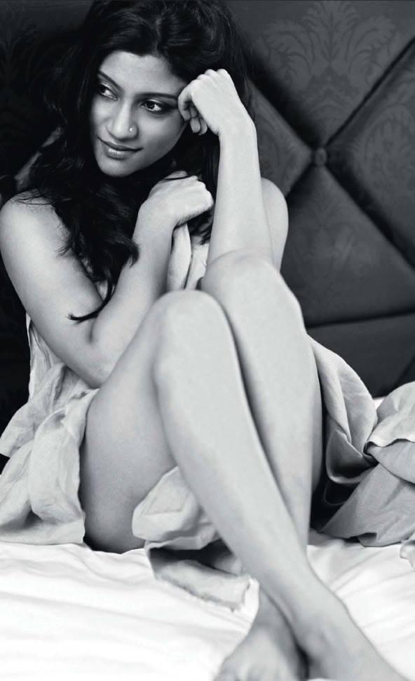Konkana Sen Sharmas Cover Photoshoot For Maxim India August 2013 Maxim