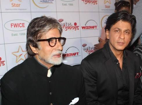 Amitabh And Shahrukh At The Saath Hain Hum Uttarakhand Event