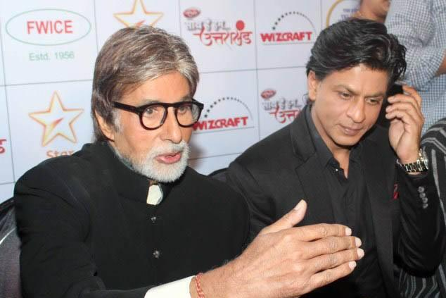 Amitabh And SRK On Show For Welfare Of Uttarakhand