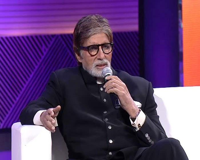 Amitabh Bachchan During The Saath Hain Hum Uttarakhand Event