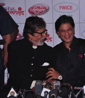Uttarakhand Event Amitabh And Shahrukh Press Meet Still