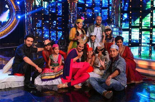Imran Along With Sonakshi Made An Appearance On Indian Idol Junior To Promote Their Film OUATIMD