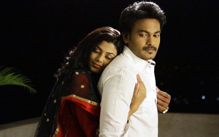 Rahul Venkat and Anisha Ambrose Romance Pic From The Movie Alias Janaki