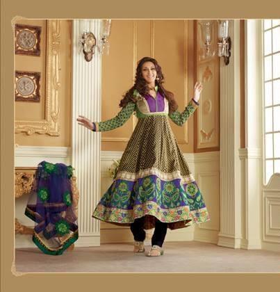Sonali Bendre In Indian Designer Wear Trendy Cool Look Photo Still