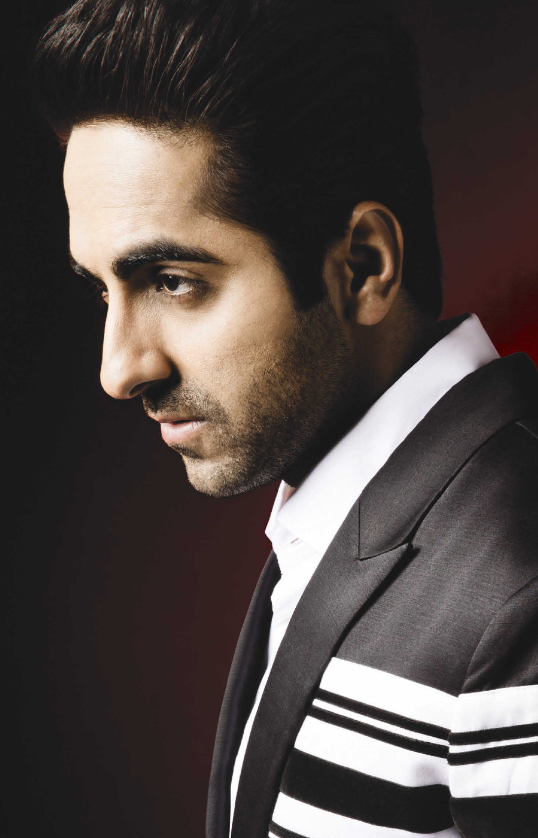 Ayushmann Khurrana Looking Very Handsome In This Man Magazine Photo Shoot