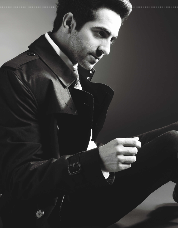 Ayushmann Khurrana's Photoshoot For The Man Magazine August Issue