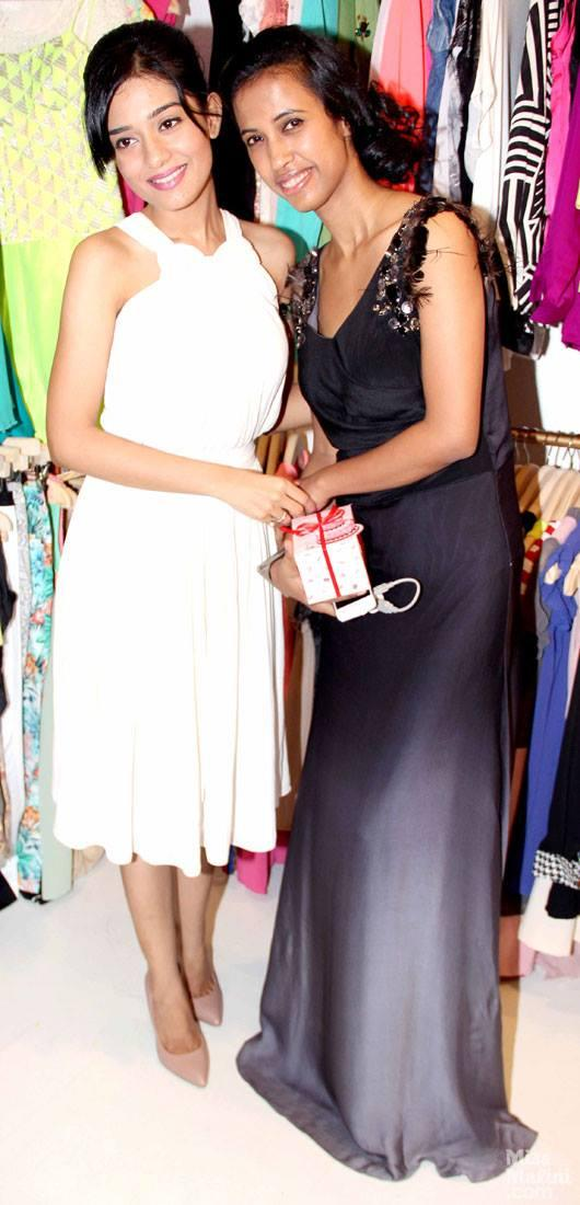 Amrita Rao Spotted At The Launch Of The Boutique L.A.S.H.A