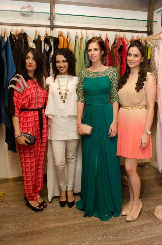 Kalki Spotted At The Launch Of Designer Abhilasha's First Store, Lasha In Bandra