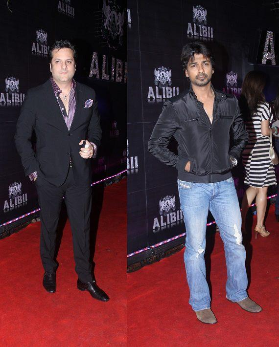 Fardeen Khan Stunning Look In Red Carpet At Sridevi's 50th Birthday Party
