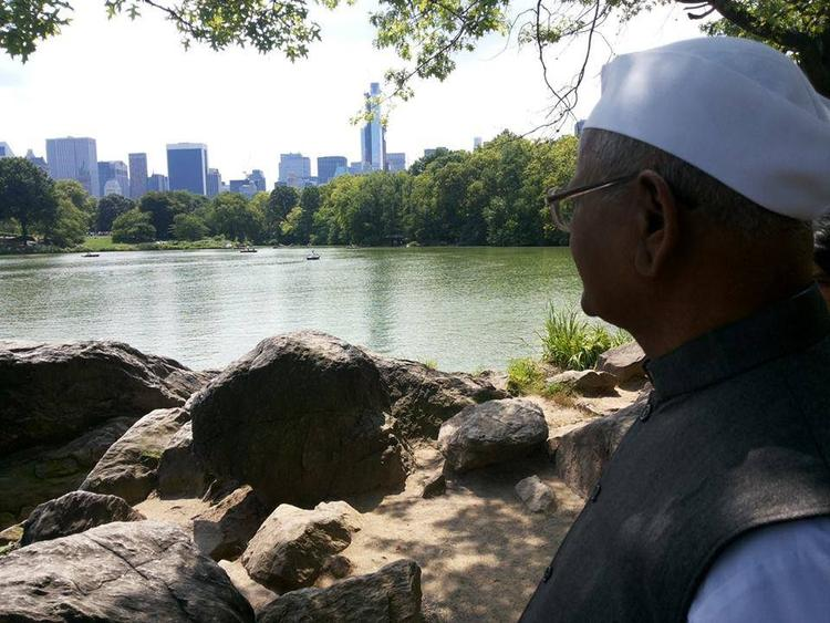 Anna Hazare Visit USA For Celebrating India Day Parade