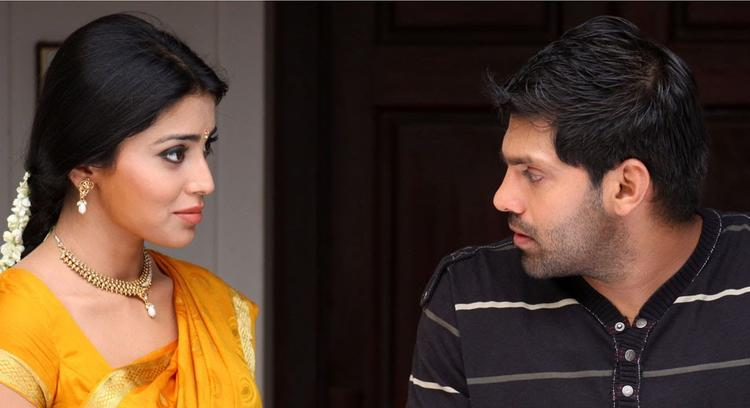Arya And Shriya Nice Photo From The Movie Love To Love