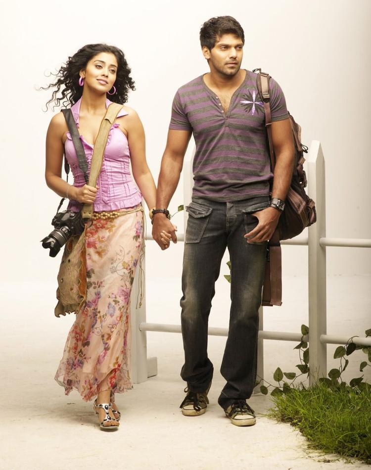 Arya And Shriya Saran In New Movie Love To Love